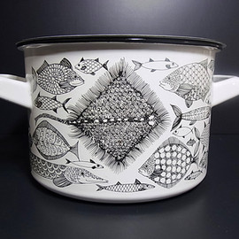 FINEL - Enamel stock pot  Neptune
