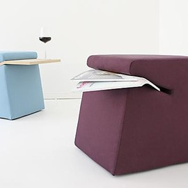 SLOT Stool & Side Table Design by Moritz Böttcher & Sören Henssler