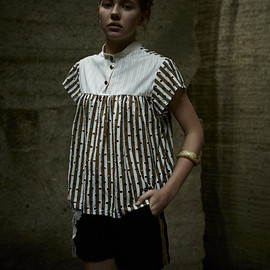 Metaphysica - Pistil Blouse/Collage Short PT