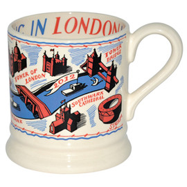 Emma Bridgewater - Colourful London 0.5pt Mug