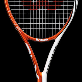 Wilson - TOUR BLX 95 (ORANGE×WHITE)