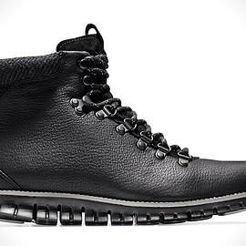 Cole Haan - Zerogrand Hiker Boot - Black/Grey?