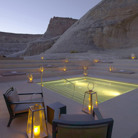 Canyon Point, Utah - 'Amangiri Luxury Resort Hotel'