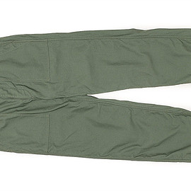 WORKADAY - Fatigue Pant-Cotton Reversed Sateen-Olive