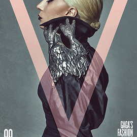 V Magazine, LADY GAGA - V99 GAGA'S FASHION GUARD: LADY GAGA BY STEVEN KLEIN