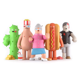 YUMYUM - Toys Series One SET OF FIVE