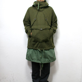 Engineered Garments - Over Parka / Wool Flannel