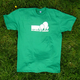 warp - Boards of Canada / Green T-Shirt