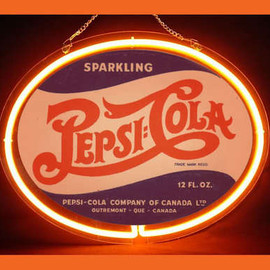 Pepsi Cola drink Decor Display Sharp Neon Light Sign