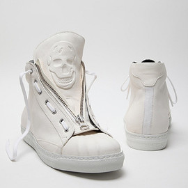 Alexander McQueen - Leather High-Top Sneaker
