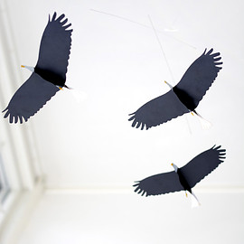 Roger Stakör, ART IN MOTION - MOBILE AMERICAN EAGLES ワシのモビール