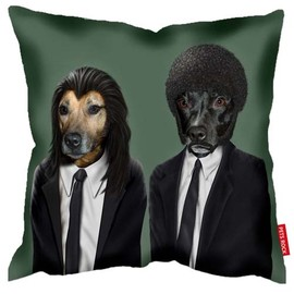 Takkoda - Hit Dogs - Takkoda Pets Rock Cushion