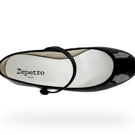 Repetto - Mary Jane Lio/Patent leather Black