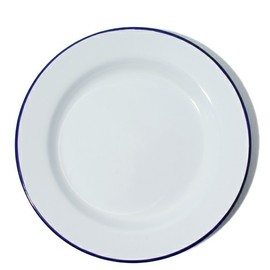 LABOUR AND WAIT - ENAMEL PLATE