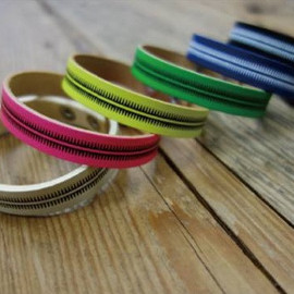 UNDERCOVER - GIZ COLOR LEATHER BRACELET