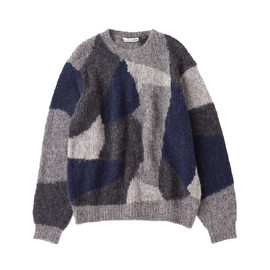 linen ramie tiger sweat