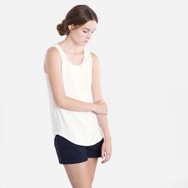Everlane - The Drape Tank in Cream
