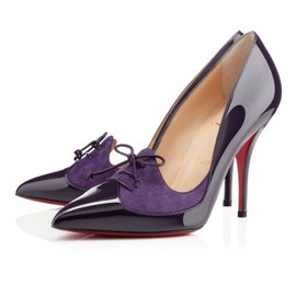 Christian Louboutin - QUEUE DE PIE VERNIS