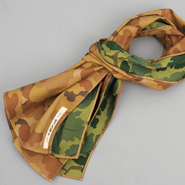 The Hill-Side - N70-172 - TAN CLOUD / MITCHELL DOUBLE CAMOUFLAGE LARGE SCARF