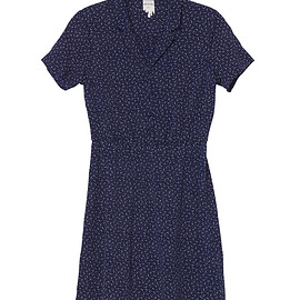 Monki - Eva Dress (Navy)