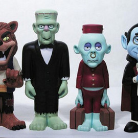 Mad Monster Party figures