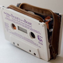 Beauty & The Beast - cassette wallet