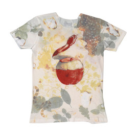 REQUIEM IN PARADISE T-SHIRT/WHITE