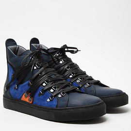 RAF SIMONS - Ankle Laced Sneaker