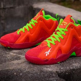 Reebok - PACKER SHOES × REEBOK KAMIKAZE II MID CHILI PEPPER