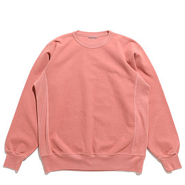 AURALEE - Super Milled Sweat P/O-Pink Red