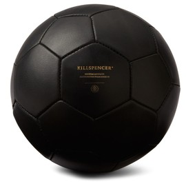KILLSPENCER - Black Leather Soccer Ball
