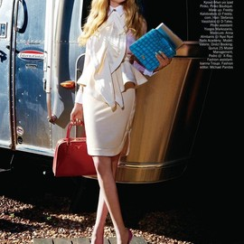 style icon - Valerie van der Graaf editorial for Vogue Hellas' May 2012