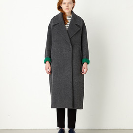 ENFOLD - LONG COCOON COAT