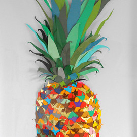 ufansius:Colour Paper Pineapple - Andy MacGregor