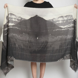Mountain Print Scarf