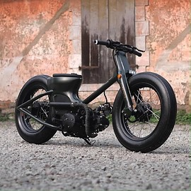 HONDA - C70 Custom Army