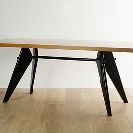 Vitra - EM Table by Jean Prouve