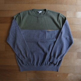 "DISCOVERED - York Knit ""Green xGray"""