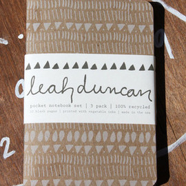 Leah Duncan - Image of Pocket Notebooks Three Pack