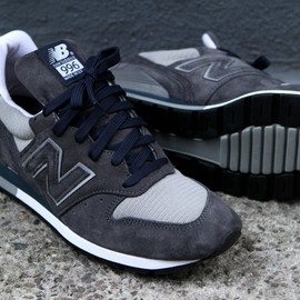 "New Balance - M996 ""Dark Grey"""