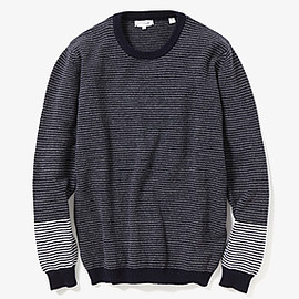 chinti and parker - CONTRAST STRIPE SWEATER