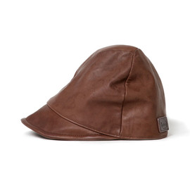hobo - Smooth Leather Bias Cap
