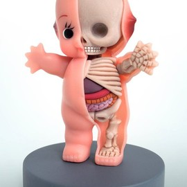 Jason Freeny - Kewpie Anatomy Sculpt