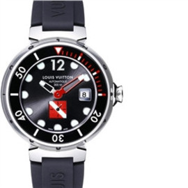 LOUIS VUITTON - Tambour Diving II automatic, Grey, XL size Q103A0