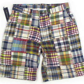 POLO RALPH LAUREN - India Madras Patchwork Shorts