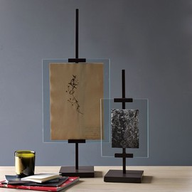 west elm - Metal Easel Adjustable Floating Frames