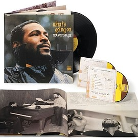"Marvin Gaye ‎ - What's Going On ( ""40th Anniversary Super Deluxe Edition""  2CD + LP + Gatefold Booklet )"