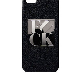 GOD BLESS U - GOD BLESS U iPhone5 【FUCK】PLATE CASE