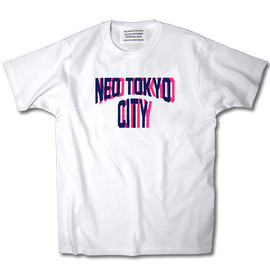 INDUSTRIAL SUITE - NEO TOKYO CITY TEE【WHITE】