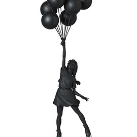 MEDICOM TOY - Flying Balloons Girl(GESSO BLACK Ver.)